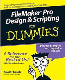 Cover of FileMaker Pro for Dummies book