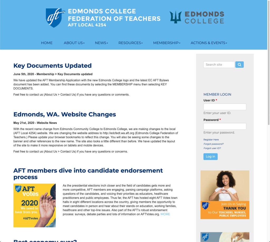 Edmonds College Home Page